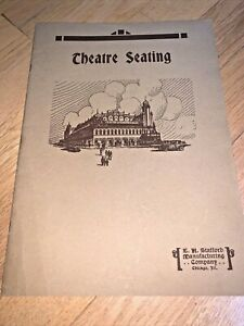 1927 STAFFORD'S THEATRE SEATING CATALOG - Chicago