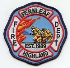 FERNLEAF HIGHLAND KENTUCKY KY FIRE PATCH