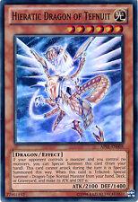 3x Yugioh SDBE-EN010 Hieratic Dragon of Tefnuit Common Card