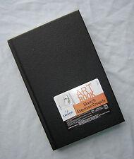 """Canson Art Book Basic Black Sketchbook Hardbound 5.5"""" x 8.5""""  65 lb 108 Sheets"""