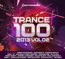 Trance 100: 2013 Vol. 24 Discs Armada Music *NEW SEALED* 100 Tracks! (Box C153)