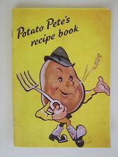 Potato Pete's Recipe Book, a re-print of World War 2 book