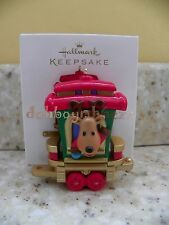 Hallmark 2011 Holiday Train Reindeer Rider Santa's Train Collection Ornament