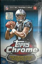 2011 Topps Chrome Factory Sealed Football Hobby Box   Cam Newton AUTO ROOKIE ???