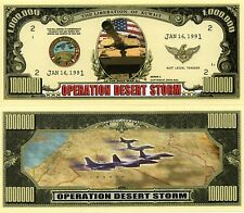 Operation Desert Storm Million Dollar Novelty Money