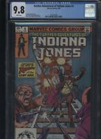 Further Adventures of Indiana Jones #4 CGC 9.8 Ron Frenz 1983
