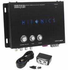 Hifonics Bxipro2.0 Digital Bass Processor w/ Noise Reduction + Master Volume