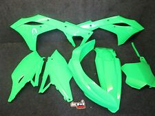 Kawasaki KXF450 2016-2017 X-Fun complete Neon flo green full plastic kit PK3019
