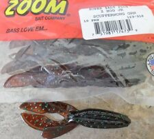 "Zoom Z Hog Jr 3.5"" - Scuppernong Green, soft plastic lures"