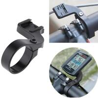 Out Front Bike Handlebar Black Extender Mount Stents Support for Cateye Plastic