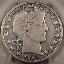 1892-S Barber Half Dollar PCGS VG10