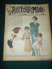 Le petit ECHO de la MODE du 11 FEVRIER 1934 n°6  MARDI GRAS   S166
