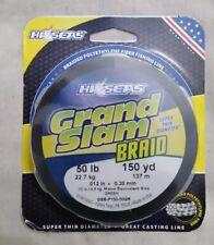 Hi-Seas - Grand Slam Braided Spectra Fishing Line - 50lb 150yd Green