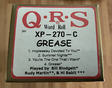 More details for pianola roll the musical grease, 4 songs