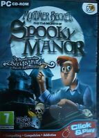 Mortimer Beckett and the Secrets of Spooky Manor (PC GAME), Free Postage, A11