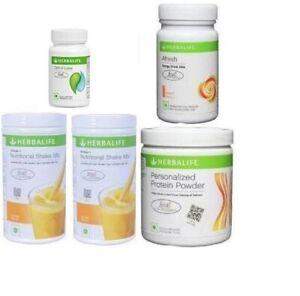 Herbalife Advanced 2x Formula 1 Shake + Protein Powder (200g) cell u loss & tea