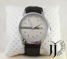 046a0ee484a9 Nuevo Armani Exchange Para Hombre  clásico  Cuero Marrón Reloj AX2100