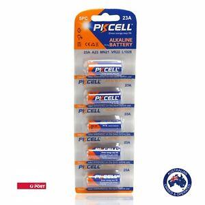 5 x 23A 21/23 A23 23A 23GA 12V Alkaline Battery Garage Car Remote Alarm PKCell