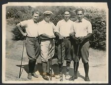 1921 DUKE KAHANAMOKU with Other Sports Champions on Golf Course Vintage Photo
