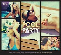 POOL PARTY feat. INCOGNITO, GREEN LAB, NORA EN PURE, 10CC, MOLOKO, 3 CD NEUF