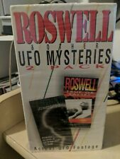 Roswell & Other UFO Mysteries 2 VHS Set 1995