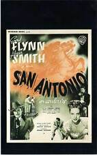 FICHE DE L'AFFICHE : SAN ANTONIO - Flynn,Smith,Butler 1945