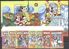 Walt Disney, Weihnachten, Karusselltieren - Dominica - ** MNH 1990
