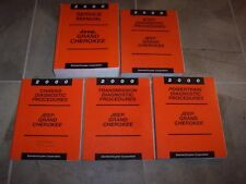 2000 Jeep Grand Cherokee Shop Service Repair Manual Set Laredo Limited