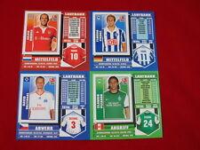 Topps liga 2009/2010 juego de completamente + Update + album = todos sticker 09/10