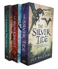 Copper Promise Jen Williams 3 Books Silver Tide Iron Ghost Cat Fantasy New