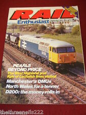 RAIL ENTHUSIAST #24 - KYLE OF LOCHALSH LINE - SEPT 1983