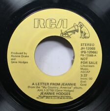 Rock Promo 45 Jeannie Hodges - A Letter From Jeannie / A Leatter From Jeannie On