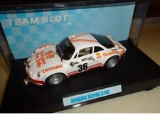 Team Slot Car 1/32 Renault Alpine A110 MONDIALE BOSH TEAM ►NEW◄ PERFECT MISB