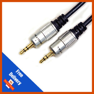 0.5m | 3.5mm Jack Plug To Plug Male Cable For Headphone | Aux | MP3 | iPod