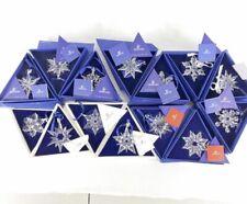 Swarovski Annual Ornaments Mib Complete Priced Individually (average Price) Ask
