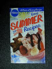 PILLSBURY Cookbook Booklet EASY SUMMER RECIPES  1996 #185