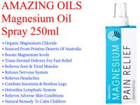 Amazing Oils ORGANIC MAGNESIUM OIL SPRAY 250ml ( Magnesium Chloride )