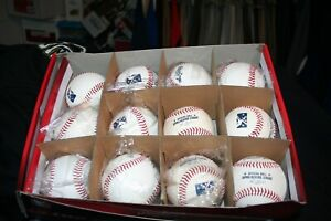 Dozen Rawlings Minor League Baseballs New in Box