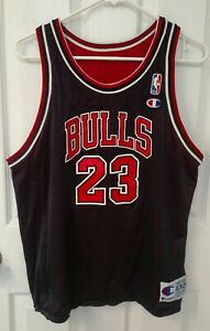 NBA Chicago Bulls Michael Jordan Size XL Youth Kids Reversible Champion Jersey