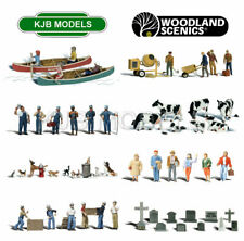 BNIB O Gauge Woodland Scenics People / Figures / Animals - 44 Variations