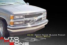 94 95 96 97 98 Chevy Silverado Billet Grille Grill 2pc Insert