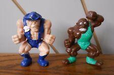 Texas Turbo, ferro da stiro potente giocattolo di Cereali Kelloggs 1995 MONSTER Lottatore in tasca