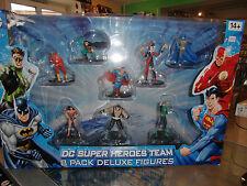 Paquete De Figuras De lujo DC Comics 8 Super Heroes equipo Liga de la justicia vendedor de Reino Unido