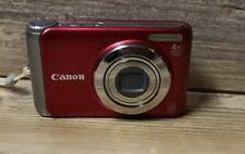 Canon PowerShot A3100 IS 12.1MP Digital Camera - Red  NO BATTERY
