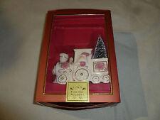 New Lenox For The Holidays Christmas Santa Petals And Pearls Train Figurine Nib