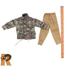 M65 Camo Jacket & Tan Pants Set - 1/6 Scale - Toys City Action Figures