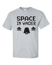 Space In Vader Alien Space Gaming Video Game Retro Men's Tee Shirt