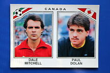 Panini WC MEXICO 86 STICKER N. 227 CANADA  WITH BACK VERY GOOD/MINT