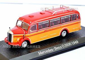 MERCEDES BENZ 3500 1949 1:72 bus model car die cast buses diecast toy miniature