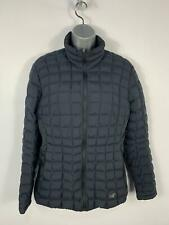 WOMENS ARC'TERZ NARIN BLACK DOWN PADDED WINTER CASUAL ZIP FITTED COAT SIZE LARGE